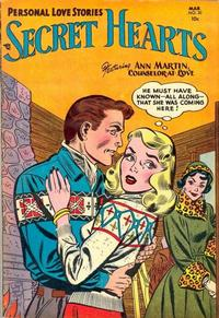 Cover Thumbnail for Secret Hearts (DC, 1949 series) #20