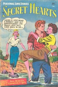Cover Thumbnail for Secret Hearts (DC, 1949 series) #21