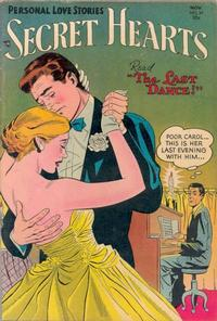 Cover Thumbnail for Secret Hearts (DC, 1949 series) #24