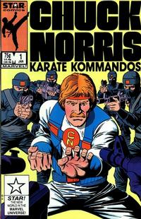 Cover Thumbnail for Chuck Norris (Marvel, 1987 series) #1