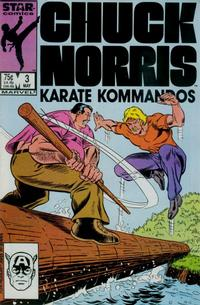 Cover Thumbnail for Chuck Norris (Marvel, 1987 series) #3