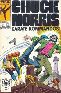 Cover Thumbnail for Chuck Norris (Marvel, 1987 series) #4 [Direct]