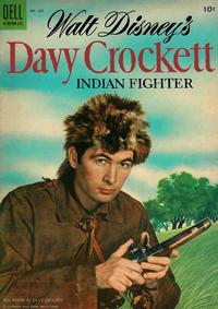 Cover Thumbnail for Four Color (Dell, 1942 series) #631 - Walt Disney's Davy Crockett Indian Fighter
