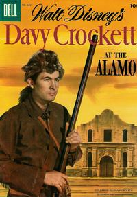 Cover Thumbnail for Four Color (Dell, 1942 series) #639 - Walt Disney's Davy Crockett at the Alamo