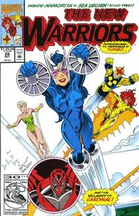 Cover Thumbnail for The New Warriors (Marvel, 1990 series) #28 [Direct]