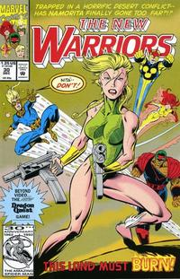 Cover Thumbnail for The New Warriors (Marvel, 1990 series) #30 [Direct]