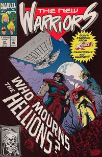 Cover Thumbnail for The New Warriors (Marvel, 1990 series) #31