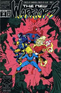 Cover Thumbnail for The New Warriors (Marvel, 1990 series) #34