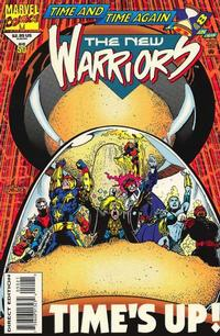 Cover Thumbnail for The New Warriors (Marvel, 1990 series) #50 [Glow in the Dark Cover]
