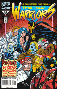 Cover Thumbnail for The New Warriors (Marvel, 1990 series) #53