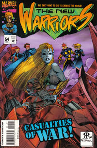 Cover Thumbnail for The New Warriors (Marvel, 1990 series) #54