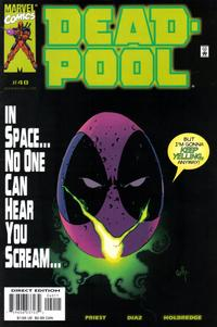 Cover Thumbnail for Deadpool (Marvel, 1997 series) #40 [Direct Edition]
