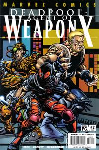 Cover Thumbnail for Deadpool (Marvel, 1997 series) #58 [Direct Edition]