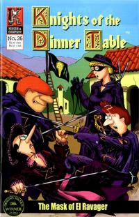 Cover Thumbnail for Knights of the Dinner Table (Kenzer and Company, 1997 series) #26
