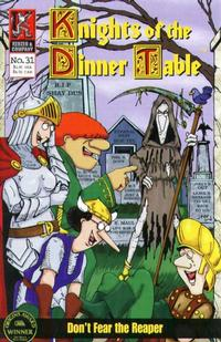 Cover Thumbnail for Knights of the Dinner Table (Kenzer and Company, 1997 series) #31