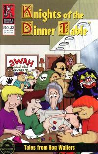 Cover Thumbnail for Knights of the Dinner Table (Kenzer and Company, 1997 series) #32