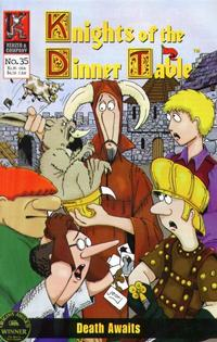 Cover Thumbnail for Knights of the Dinner Table (Kenzer and Company, 1997 series) #35