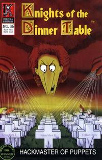 Cover Thumbnail for Knights of the Dinner Table (Kenzer and Company, 1997 series) #36