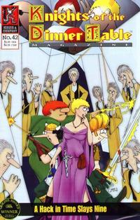 Cover Thumbnail for Knights of the Dinner Table (Kenzer and Company, 1997 series) #42