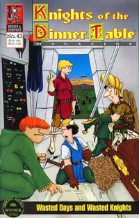Cover Thumbnail for Knights of the Dinner Table (Kenzer and Company, 1997 series) #43
