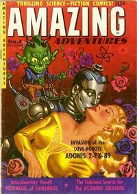 Cover Thumbnail for Amazing Adventures (Ziff-Davis, 1950 series) #4