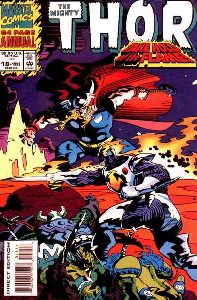 Cover for Thor Annual (Marvel, 1966 series) #18