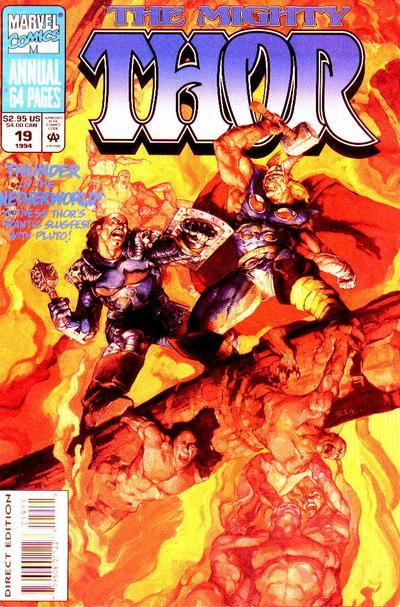 Cover for Thor Annual (Marvel, 1966 series) #19