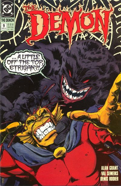 Cover for The Demon (DC, 1990 series) #9