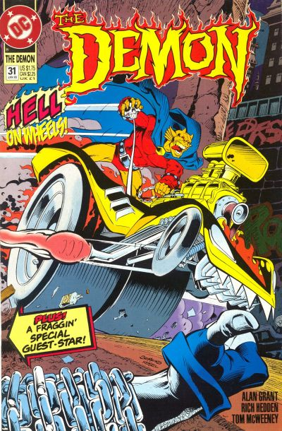 Cover for The Demon (DC, 1990 series) #31