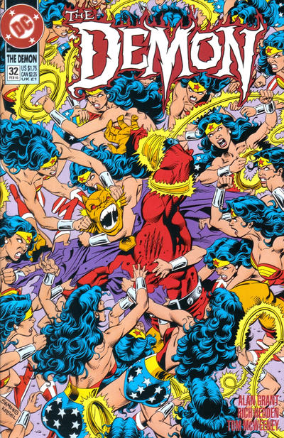 Cover for The Demon (DC, 1990 series) #32