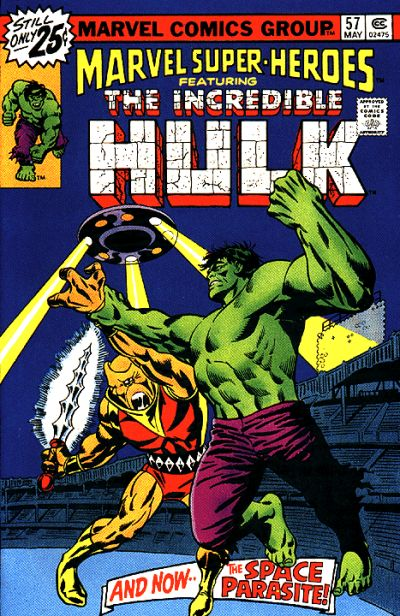 Cover for Marvel Super-Heroes (Marvel, 1967 series) #57