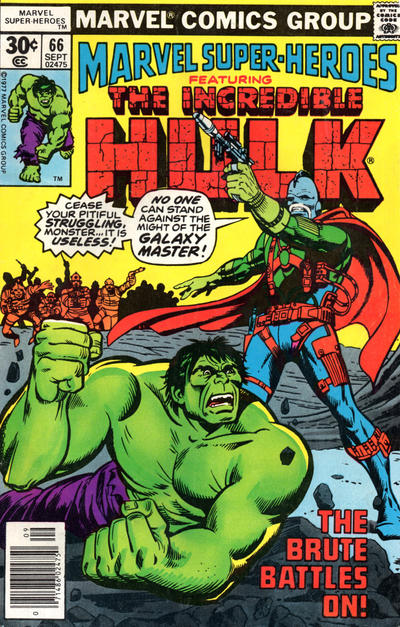 Cover for Marvel Super-Heroes (Marvel, 1967 series) #66