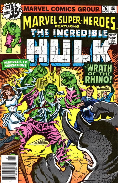 Cover for Marvel Super-Heroes (Marvel, 1967 series) #76 [Regular Edition]