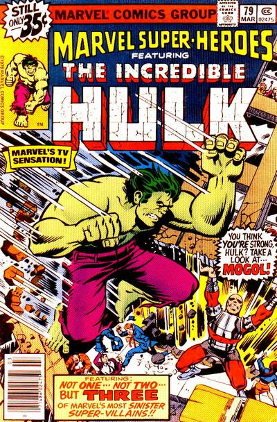 Cover for Marvel Super-Heroes (Marvel, 1967 series) #79