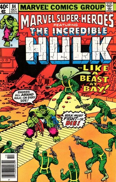 Cover for Marvel Super-Heroes (Marvel, 1967 series) #84
