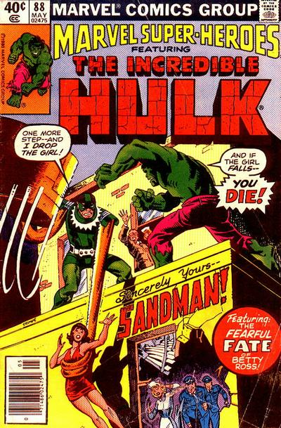 Cover for Marvel Super-Heroes (Marvel, 1967 series) #88
