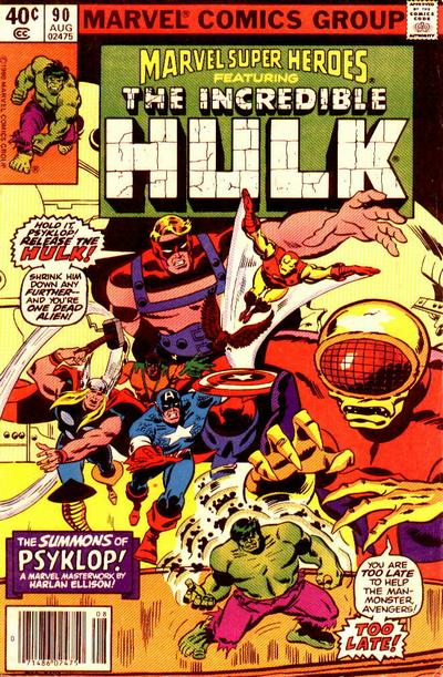Cover for Marvel Super-Heroes (Marvel, 1967 series) #90