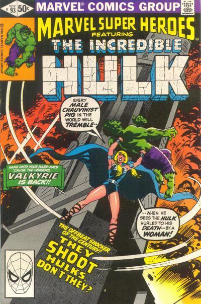 Cover for Marvel Super-Heroes (Marvel, 1967 series) #93