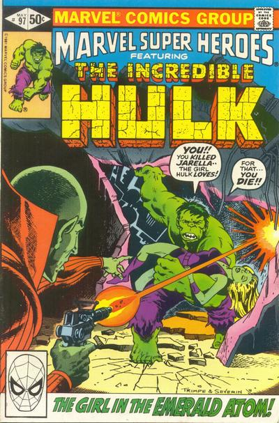 Cover for Marvel Super-Heroes (Marvel, 1967 series) #97