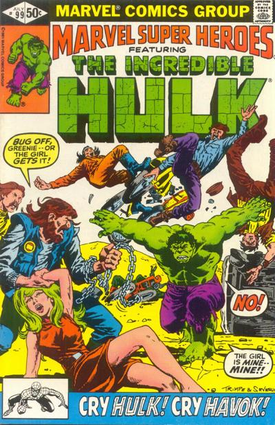 Cover for Marvel Super-Heroes (Marvel, 1967 series) #99