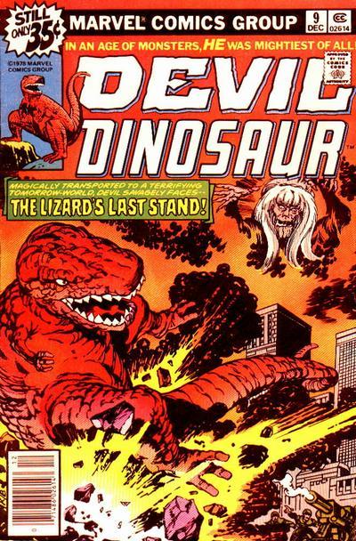 Cover for Devil Dinosaur (Marvel, 1978 series) #9