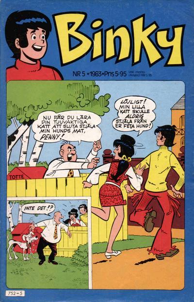 Cover for Binky (Semic, 1976 series) #5/1983