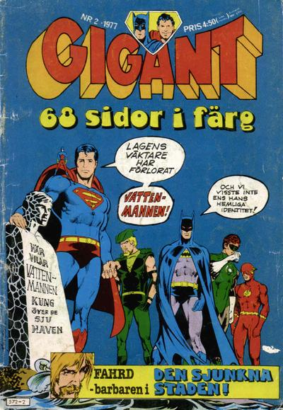 Cover for Gigant (Semic, 1976 series) #2/1977