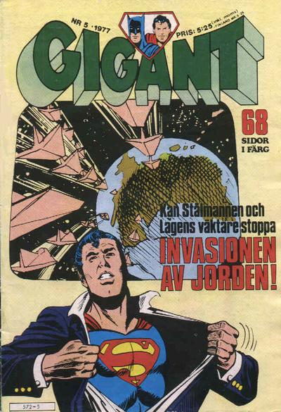 Cover for Gigant (Semic, 1976 series) #5/1977