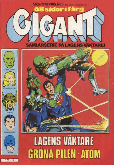 Cover for Gigant (Semic, 1976 series) #5/1978