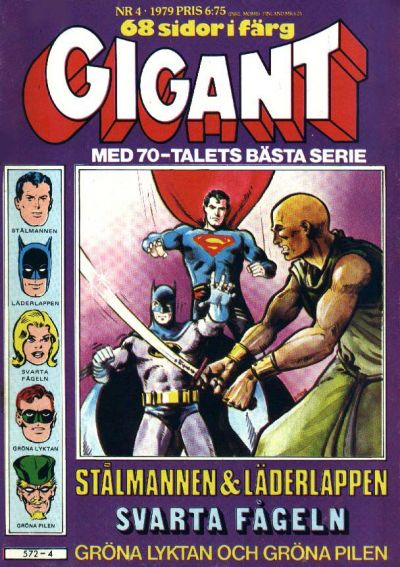 Cover for Gigant (Semic, 1976 series) #4/1979