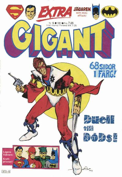 Cover for Gigant (Semic, 1976 series) #5/1981