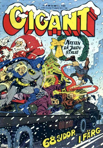 Cover for Gigant (Semic, 1976 series) #9/1981