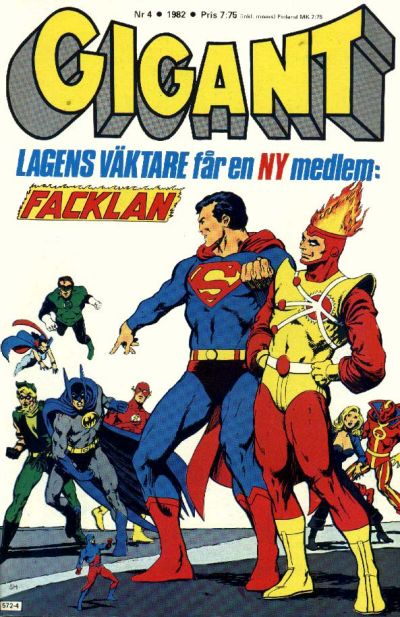 Cover for Gigant (Semic, 1976 series) #4/1982