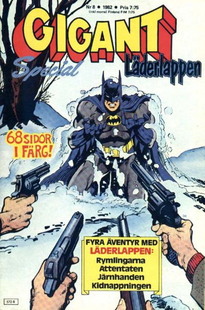 Cover for Gigant (Semic, 1976 series) #8/1982